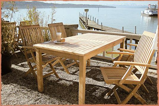 HOFART Outdoor Möbel u.v.m. für Fischer`s in Stegen am Ammersee